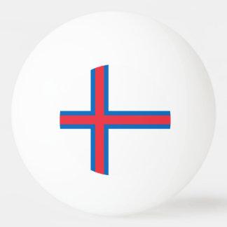Balle De Ping Pong Drapeau des Iles Féroé