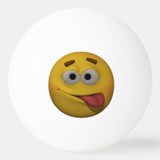 Balle De Ping Pong émoticône de Playfull du style 3D