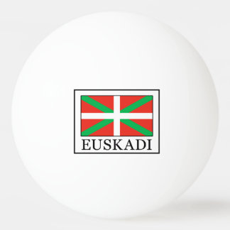 Balle De Ping Pong Euskadi