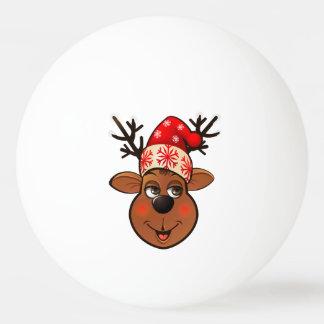 Balle De Ping Pong Le renne du père noël