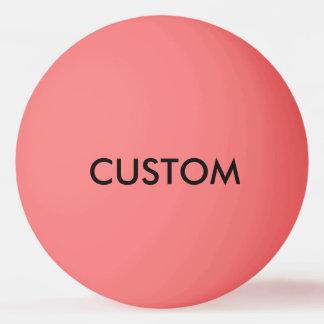 Balle De Ping Pong Modèle de blanc personnalisé par coutume de boule