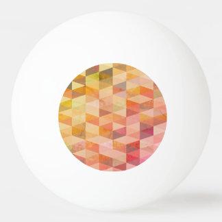Balle De Ping Pong Motif géométrique de triangle molle