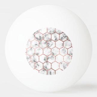 Balle De Ping Pong Or, la géométrie, marbre, motif, moderne, élégant,