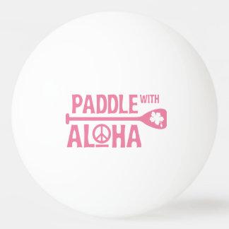 Balle De Ping Pong Palette avec Aloha - boule de ping-pong - la