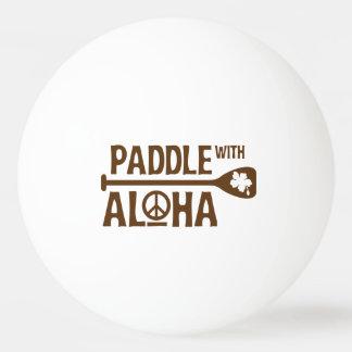 Balle De Ping Pong Palette avec Aloha - boule de puanteur de