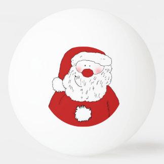 Balle De Ping Pong Père Noël de rougissement mignon