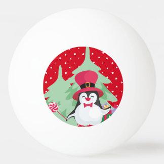 Balle De Ping Pong Un pingouin de fête - 1