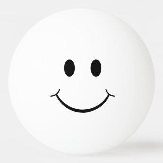 Balle De Ping Pong Visage souriant simple drôle