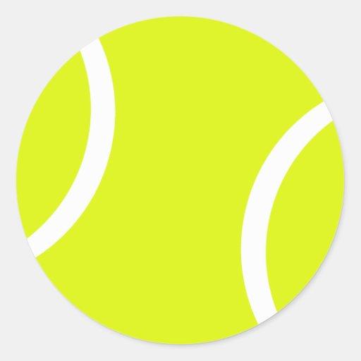 Balle de tennis adhésifs ronds
