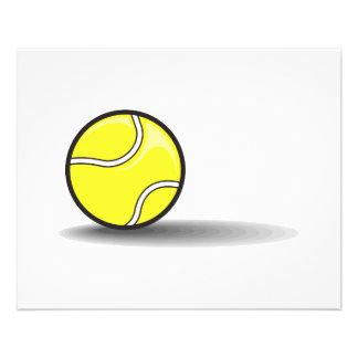 balle de tennis avec l'ombre prospectus 11,4 cm x 14,2 cm