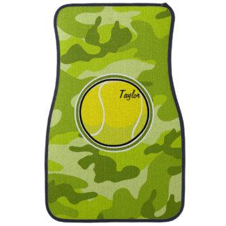 Balle de tennis ; camo vert clair, camouflage tapis de voiture