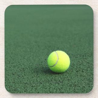 Balle de tennis sous-bock