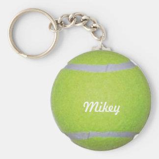 Balle de tennis personnalisable porte-clés