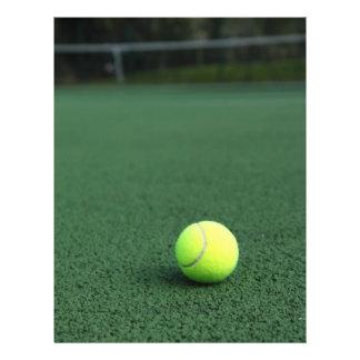 Balle de tennis prospectus 21,6 cm x 24,94 cm