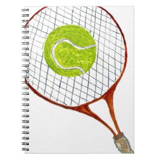 Balle de tennis Sketch3 Carnet