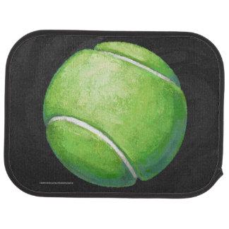 Balle de tennis tapis de sol