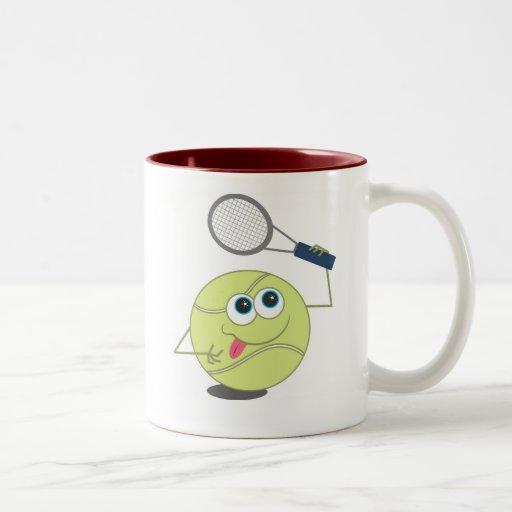 Balle de tennis mugs à café