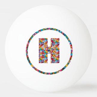 Balle Tennis De Table Boule de ping-pong de l'ART HHH H HH 3* d'ALPHABET