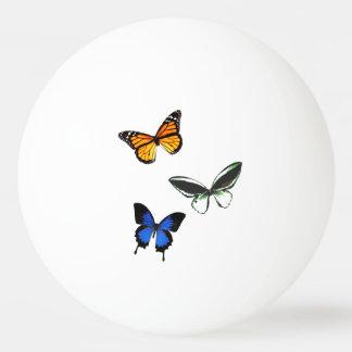 Balle Tennis De Table Boule de ping-pong de motif de papillon