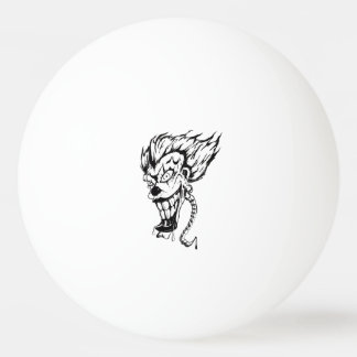 Balle Tennis De Table Boule de ping-pong mauvaise de clown