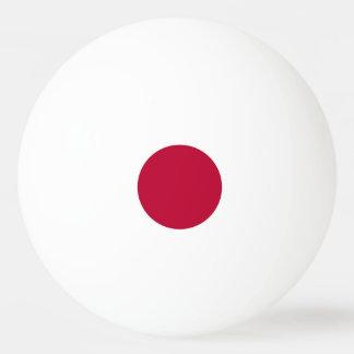 Balle Tennis De Table Boule de ping-pong spéciale avec le drapeau du