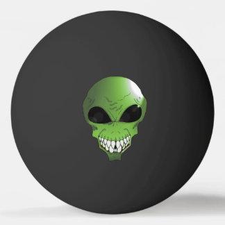 Balle Tennis De Table Boule de ping-pong verte d'étoile de l'alien un