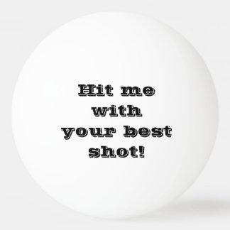 Balle Tennis De Table Boule drôle