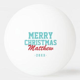 Balle Tennis De Table Boules de ping-pong de photo de monogramme de