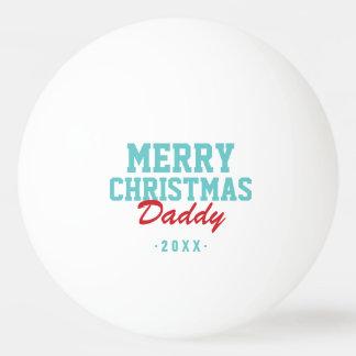 Balle Tennis De Table Boules de ping-pong de photo de papa de Joyeux