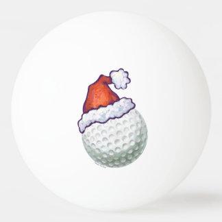 Balle Tennis De Table Casquettes de Noël de boule de golf