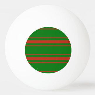 Balle Tennis De Table Coutil rouge et vert de Noël de matelas