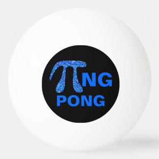 Balle Tennis De Table Geek bleu pi drôle de maths de symbole de Z
