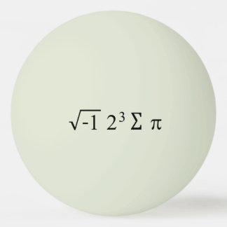 Balle Tennis De Table i 8 jour drôle de l'équation pi de maths de la