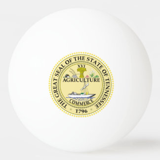 Balle Tennis De Table Joint d'état du Tennessee -