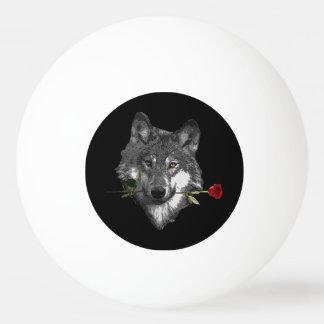Balle Tennis De Table Le loup s'est levé