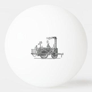 Balle Tennis De Table Locomotive tôt de train de vapeur