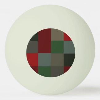 Balle Tennis De Table Lueur de plaid de Noël dans la conception