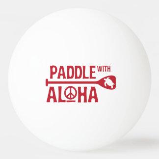 Balle Tennis De Table Palette avec Aloha - boule de ping-pong - la