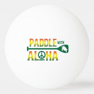 Balle Tennis De Table Palette avec Aloha - boule de ping-pong - le style