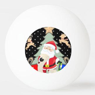 Balle Tennis De Table Père Noël a une liste