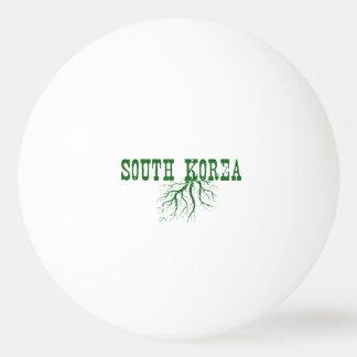 Balle Tennis De Table Racines de la Corée du Sud