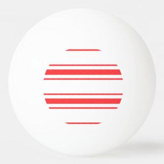 Balle Tennis De Table Rayures de coutil de lit de matelas rouge de Noël