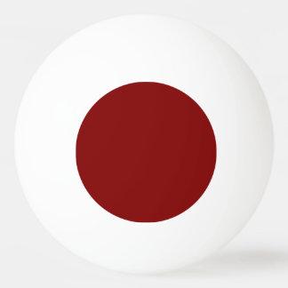 Balle Tennis De Table Seulement couleur solide OSCB04 de rouge foncé
