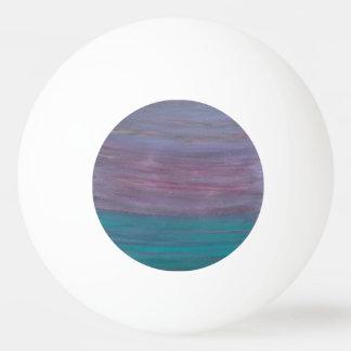 Balle Tennis De Table Turquoise pourpre rose chic visionnaire Teal du