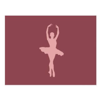 Ballerine de danse cartes postales