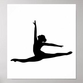Ballerine de danseur classique poster