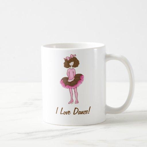 Ballerine mignonne - danseuse rose mug