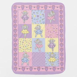 Ballerines de diva couvertures pour bébé