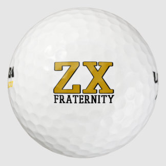 Balles De Golf Boule de golf de Chi de Zeta