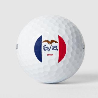 Balles De Golf Boule de golf de Wilson avec le drapeau de l'Iowa,